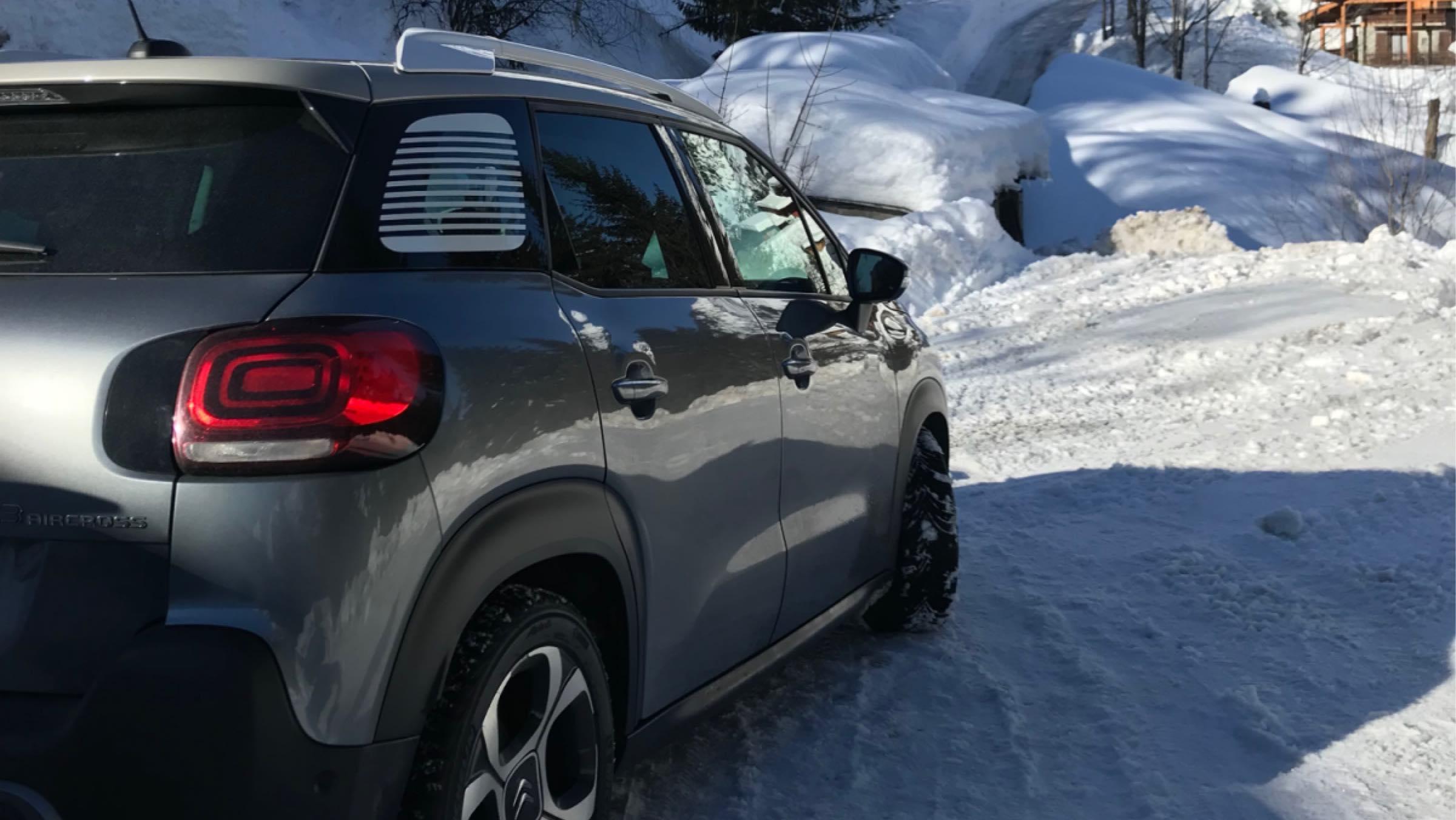 Neumáticos nieve Citroën C3 Aircross