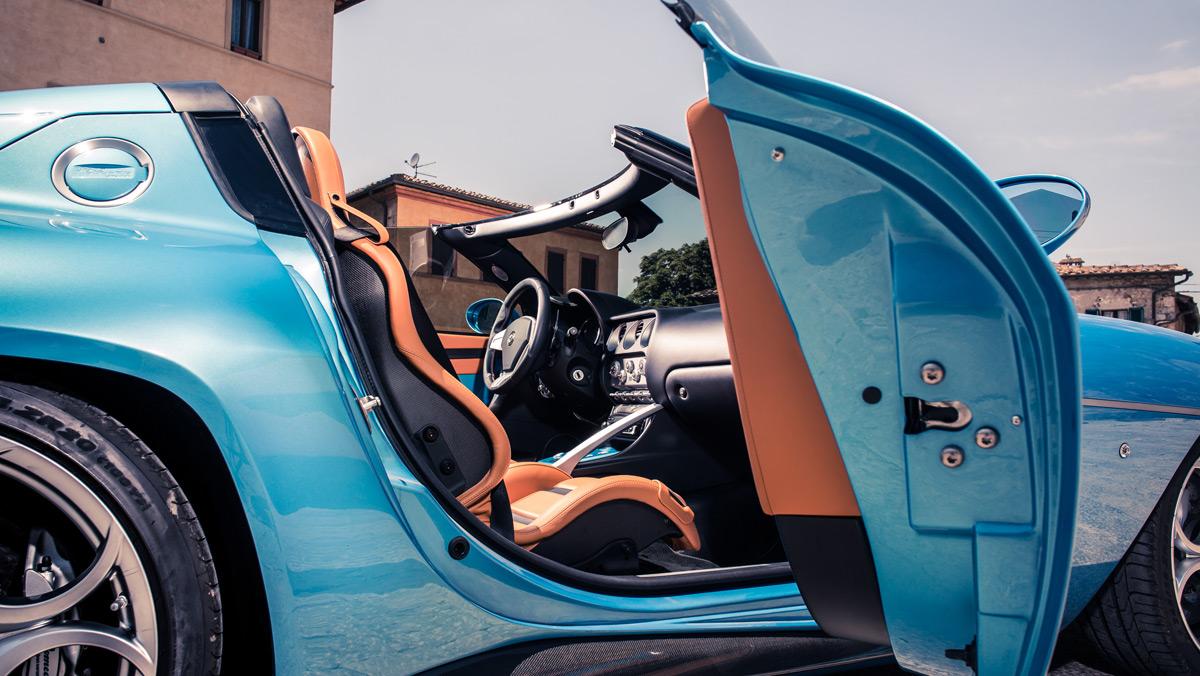 Prueba Disco Volante Spider (interior)
