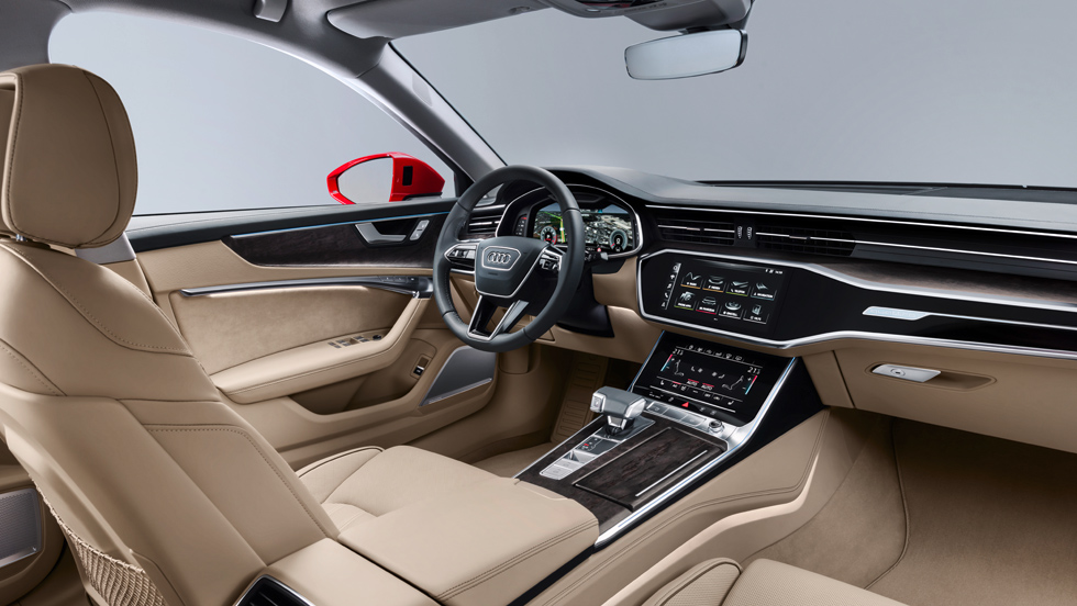 Audi A6 2018 (interior)