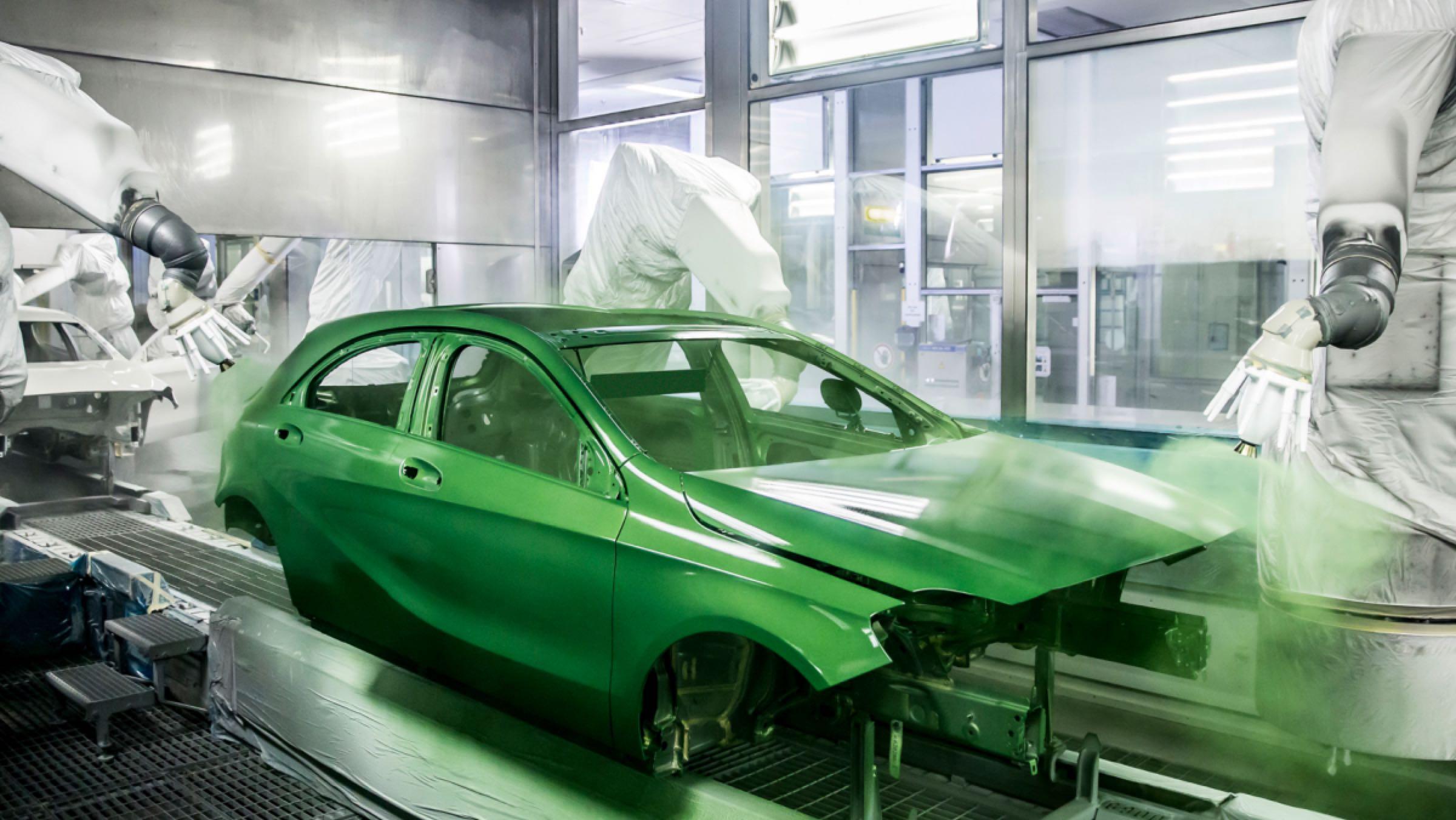 Fábrica Hungría Mercedes