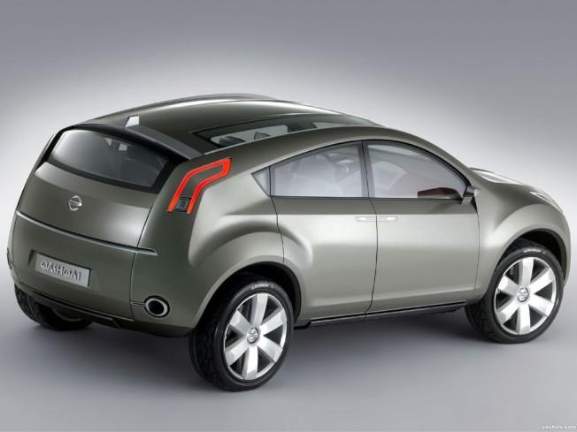 Nissan Qashqai prototipo 2004