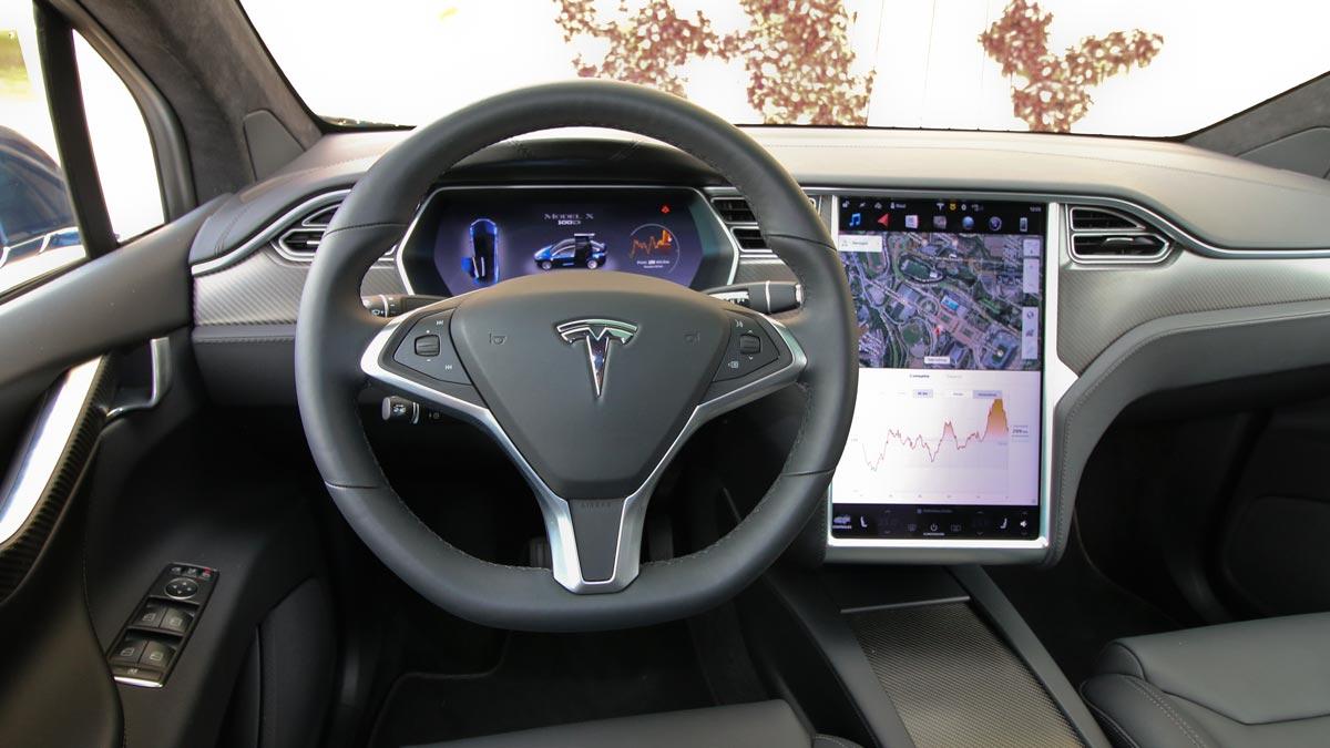 Salpicadero tecnologia futuro lujo