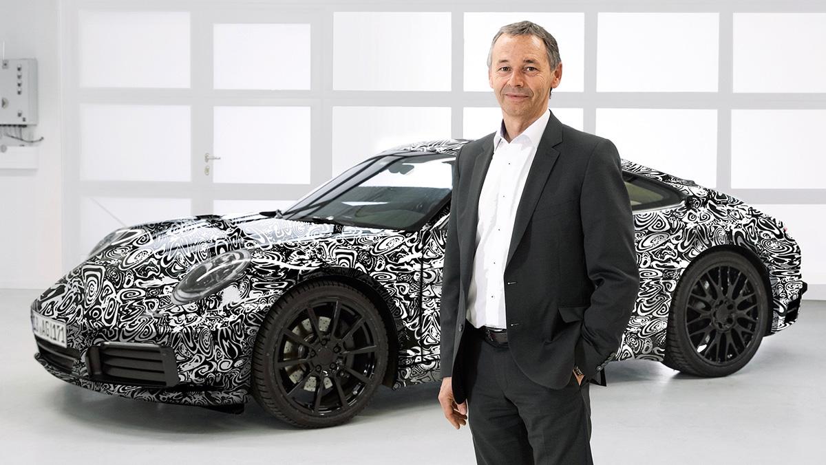 El Porsche 911 2019, camuflado