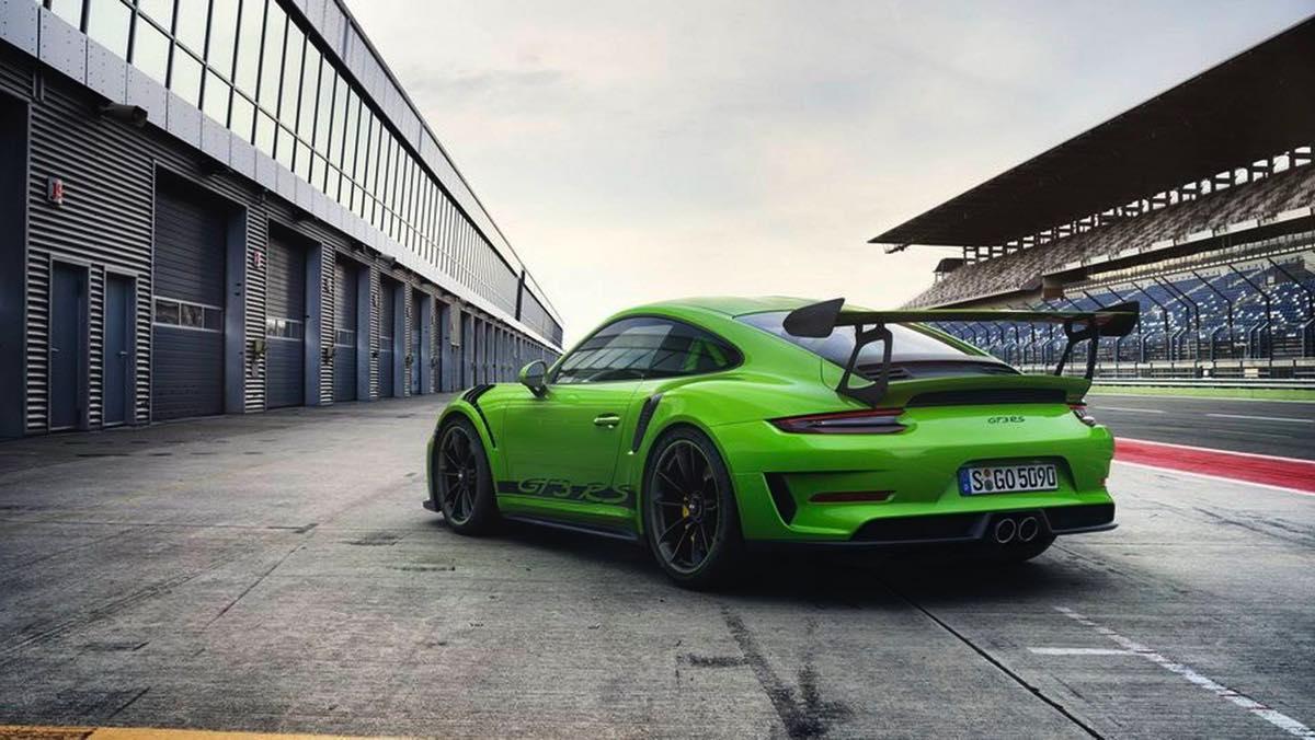 Porsche 911 GT3 RS 2018 (Trasera)