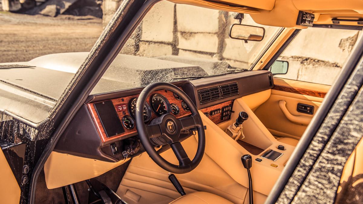 Prueba Lamborghini LM002 (puesto conducción)