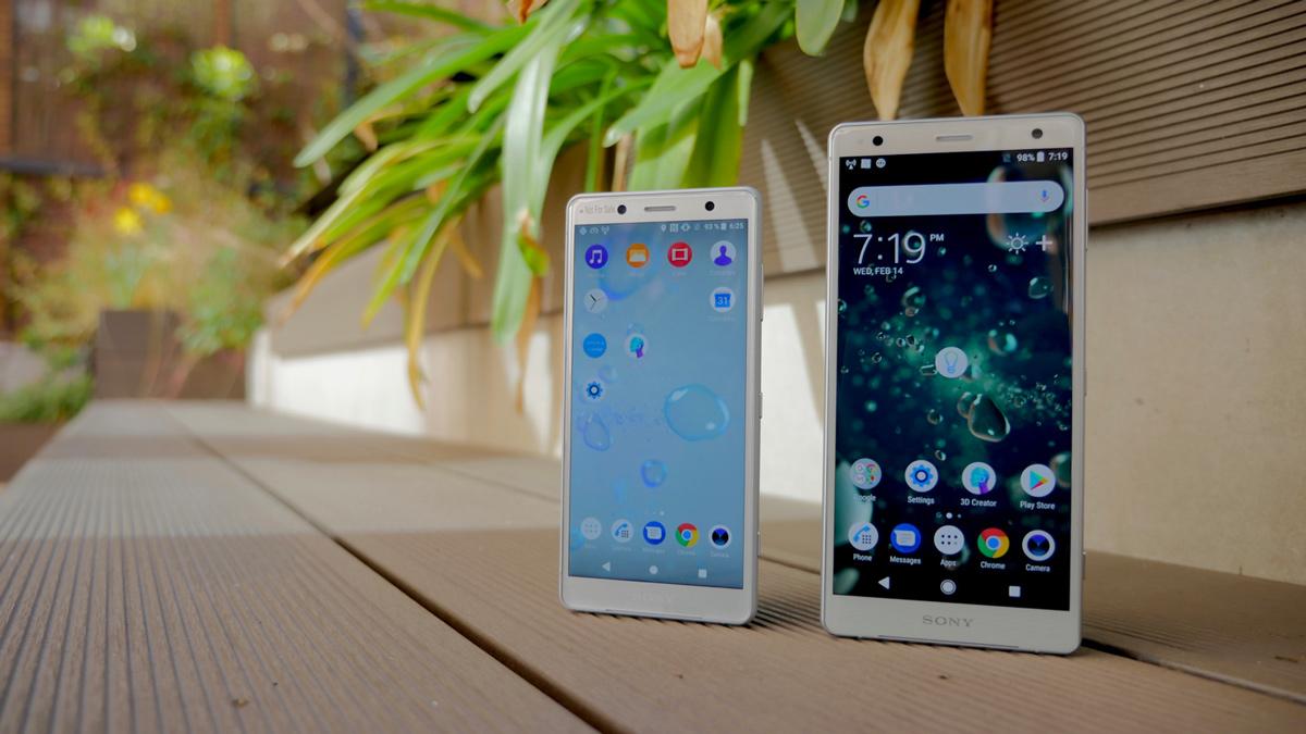 Sony Xperia XZ2 y XZ2 Compact