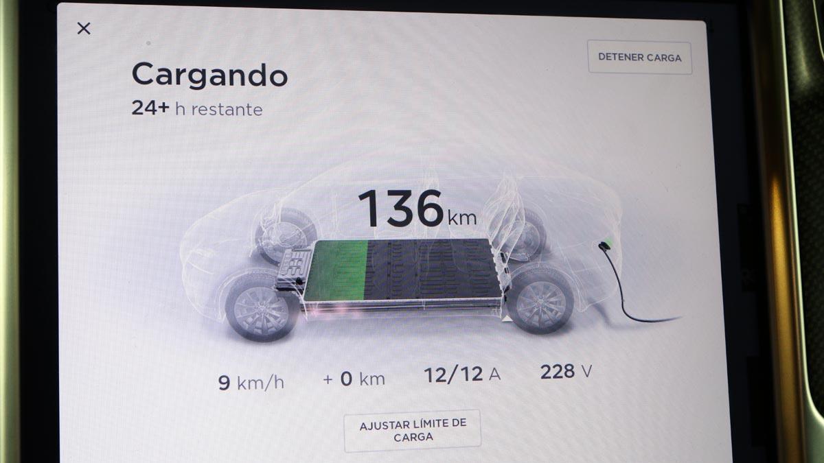 autonomia coches electricos carga electrica cargador