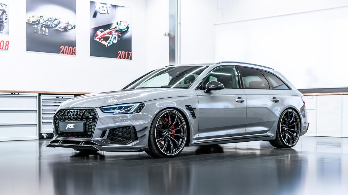 Abt Audi Rs4 R El Mas Terrorifico En El Parking Del Colegio Topgear Es