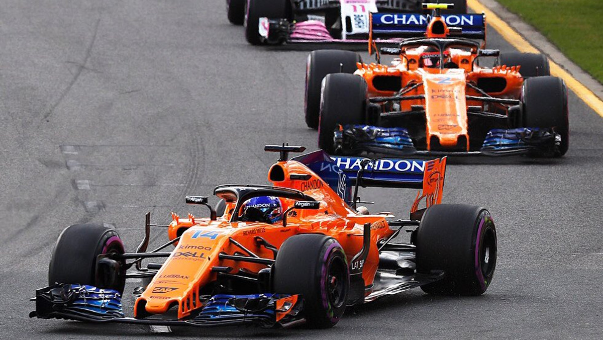 La 'coña' de Alonso en Australia