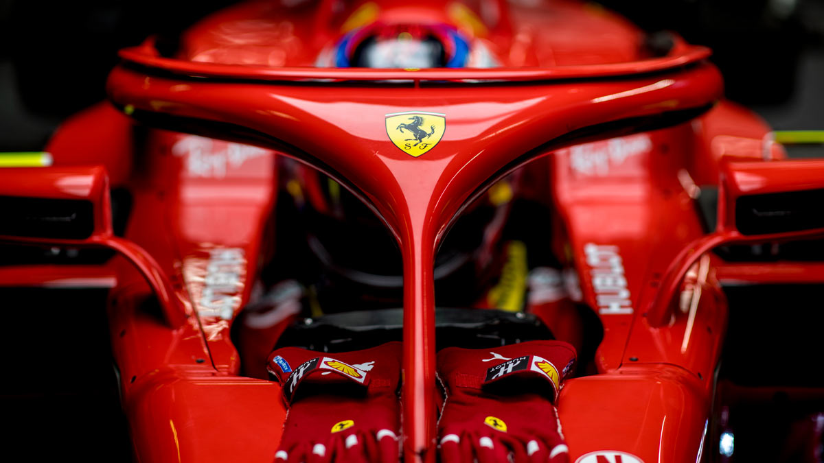 El primer día de test de Ferrari en Barcelona 2018