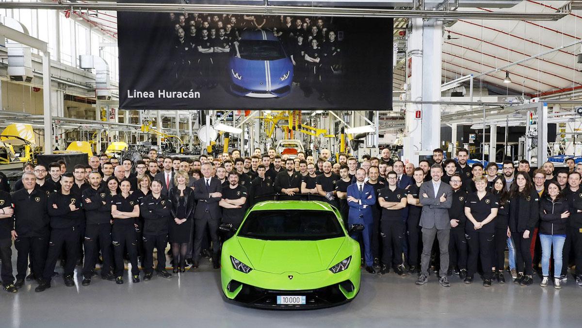 El Lamborghini Huracán número 10.000