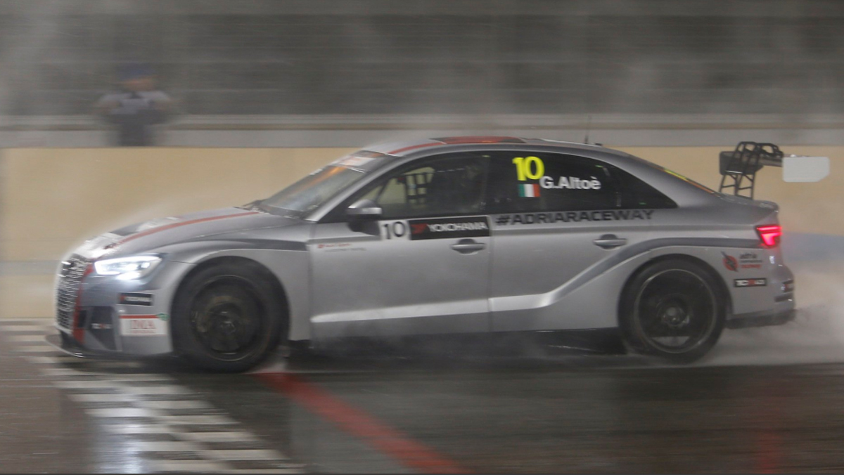 Lateral Audi RS 3 LMS TCR