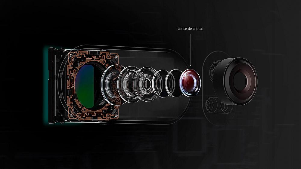 Lentes Crystal Clear del LG V30