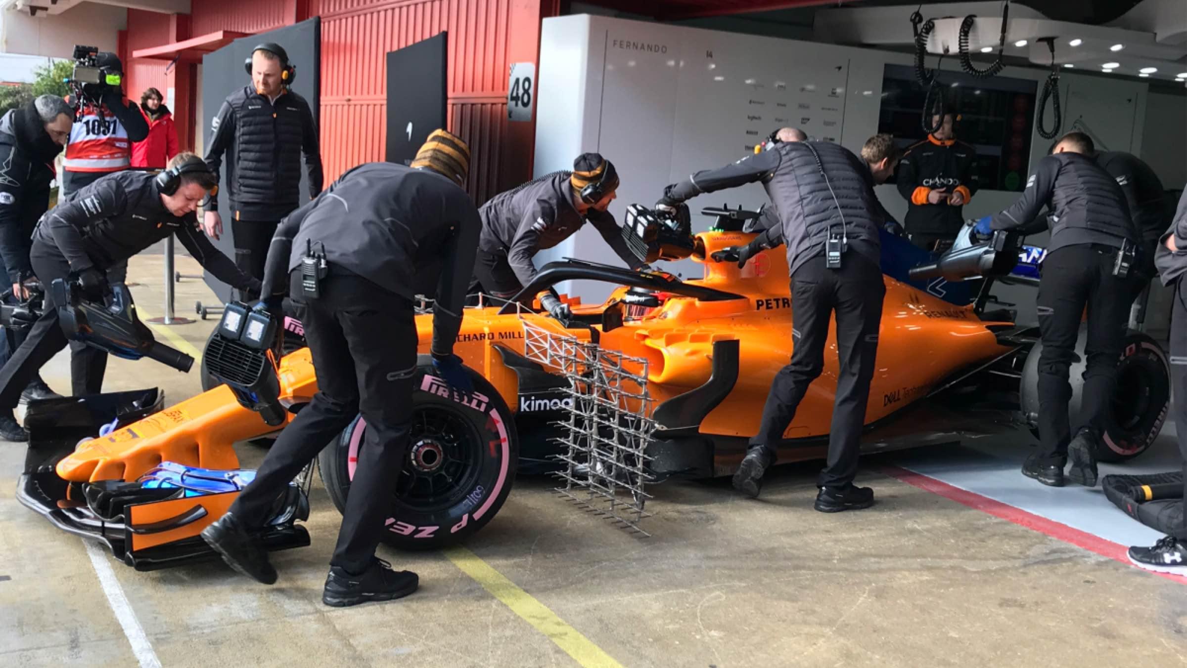 McLaren-Renault Vandoorne