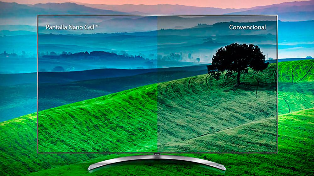Pantalla LCD con Nanocells de LG