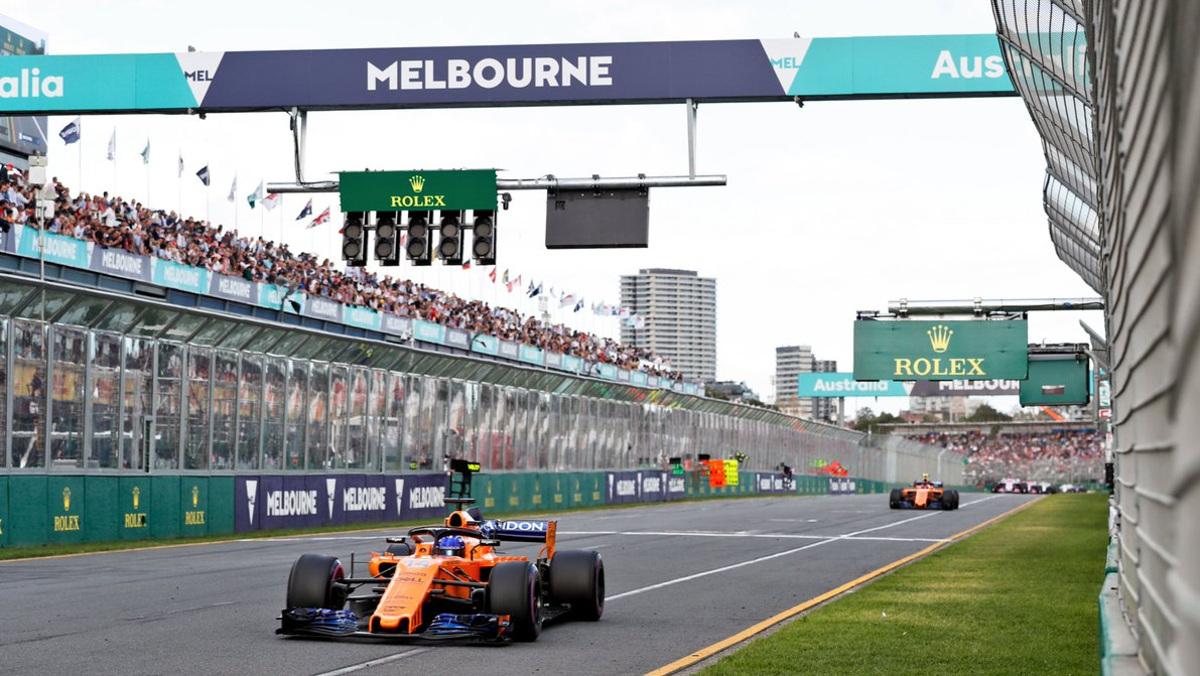 Papayas en Australia F1 2018