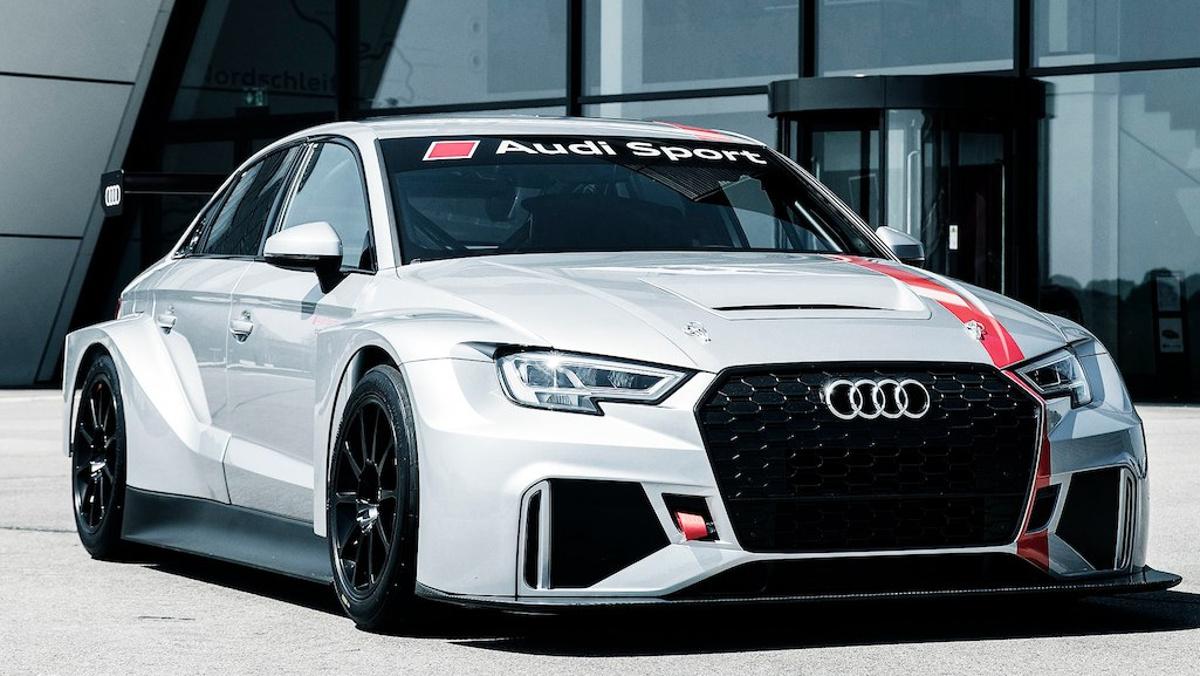 Presentación del Audi RS 3 LMS TCR