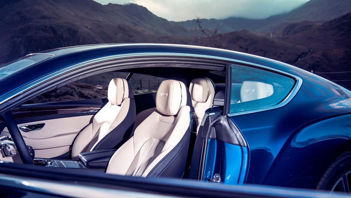 Prueba Bentley Continental GT (asientos)