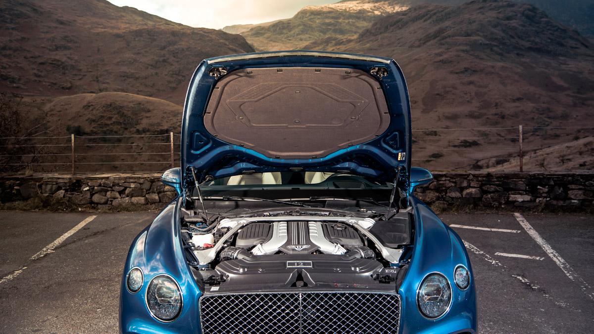 Prueba Bentley Continental GT (motor)