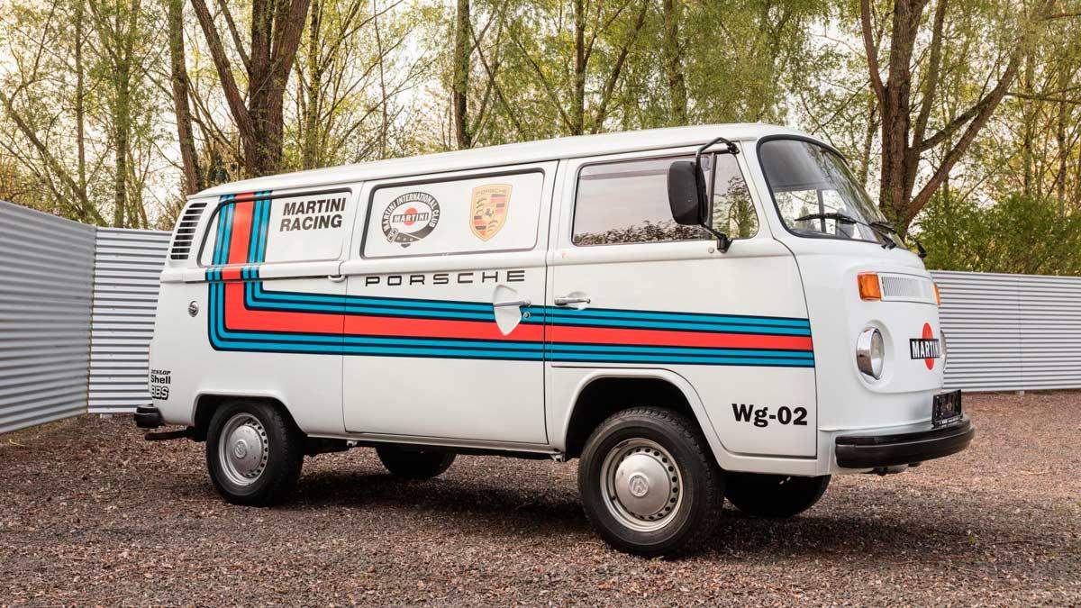transporter furgoneta autobus vw martini racing