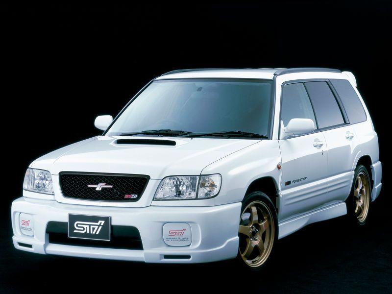 Subaru Forester STI II Type M