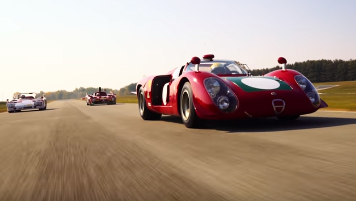 Alfa Romeo legends on track