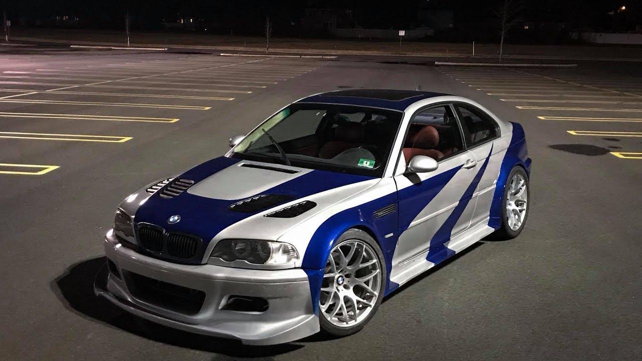 Querer Es Poder Y El Queria Tener El Bmw M3 Gtr Del Need For Speed Topgear Es