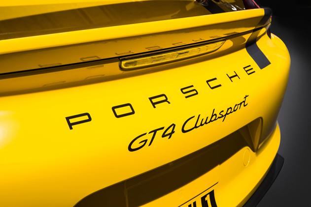 Detalle zaga Porsche Cayman GT4 Clubsport Pikes Peak