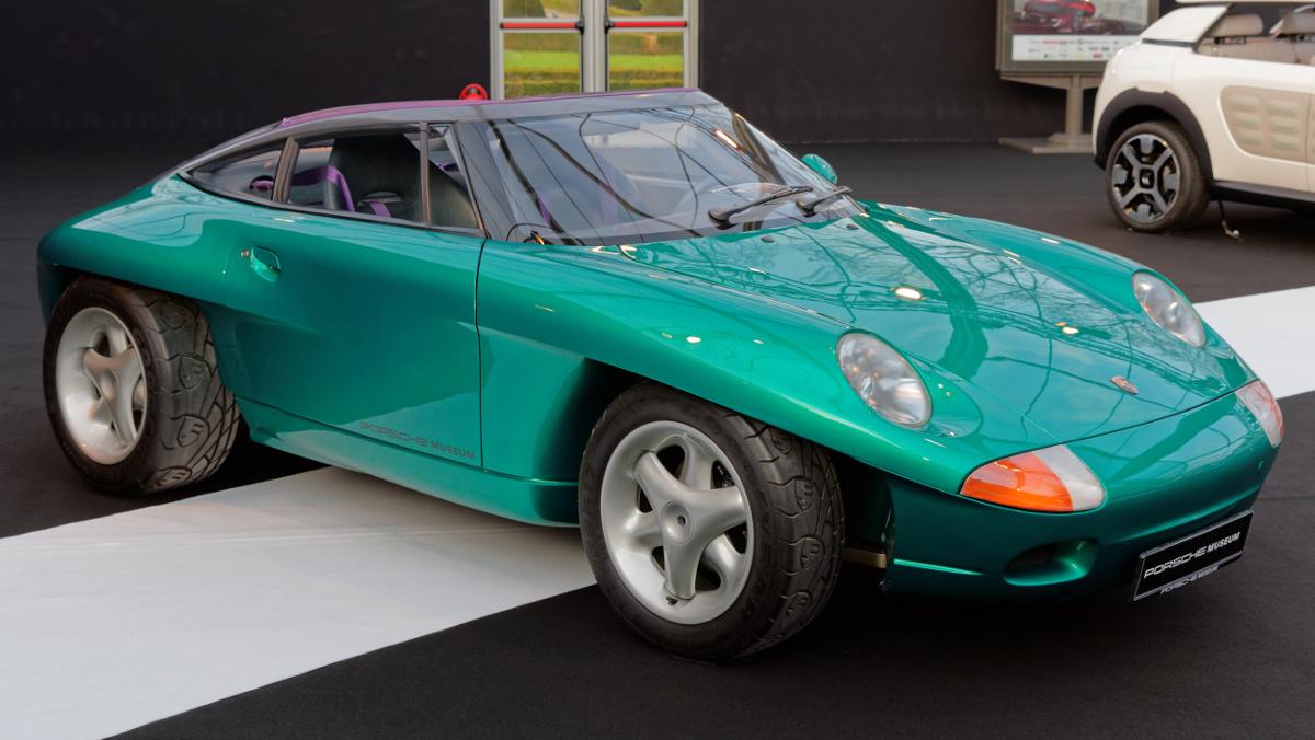 Lateral Porsche Panamericana