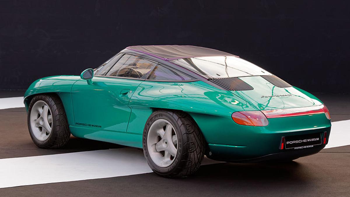 Lateral del Porsche Panamericana