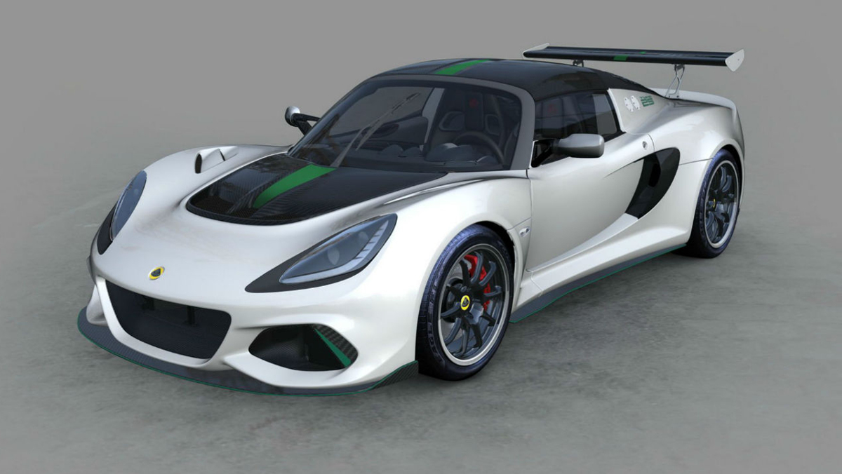 Lotus Exige Cup 430 Type 25  blanco
