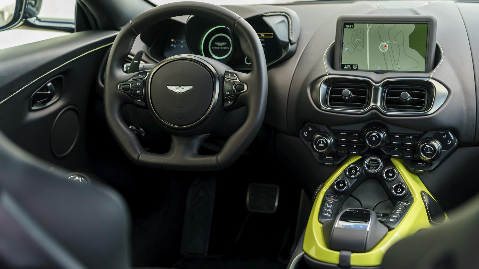 Mejoras del Aston Martin Vantage