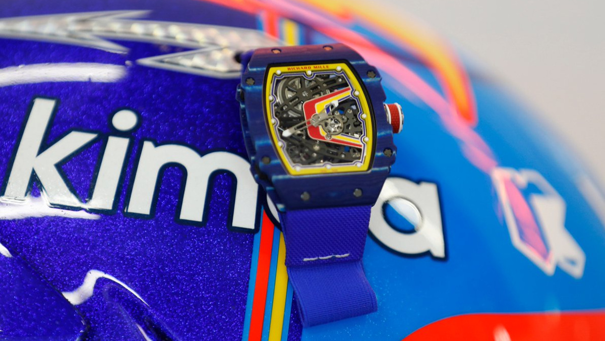 Mira el peluco Richard Mille 67-02 Alonso