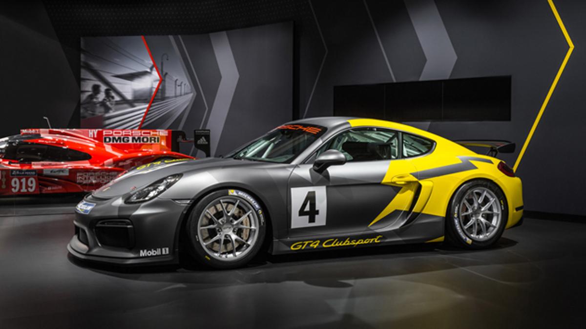 Perfil del Porsche Cayman GT4 Clubsport