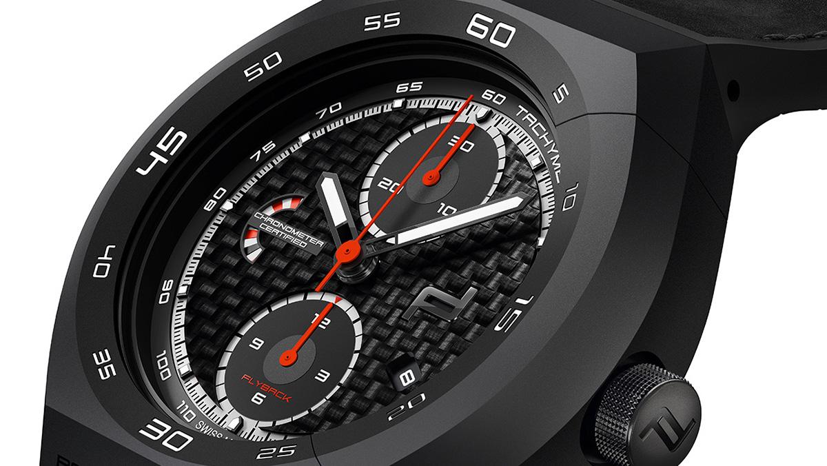 Porsche Design Monoblock Actuator Chronotimer Flyback Limited Edition