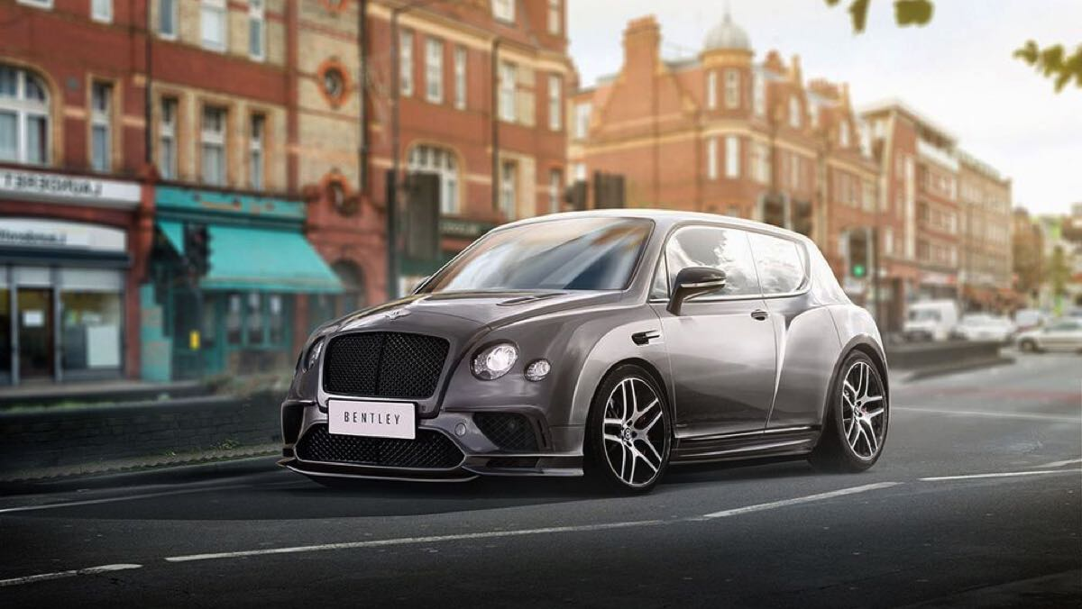 Render Bentley utilitario
