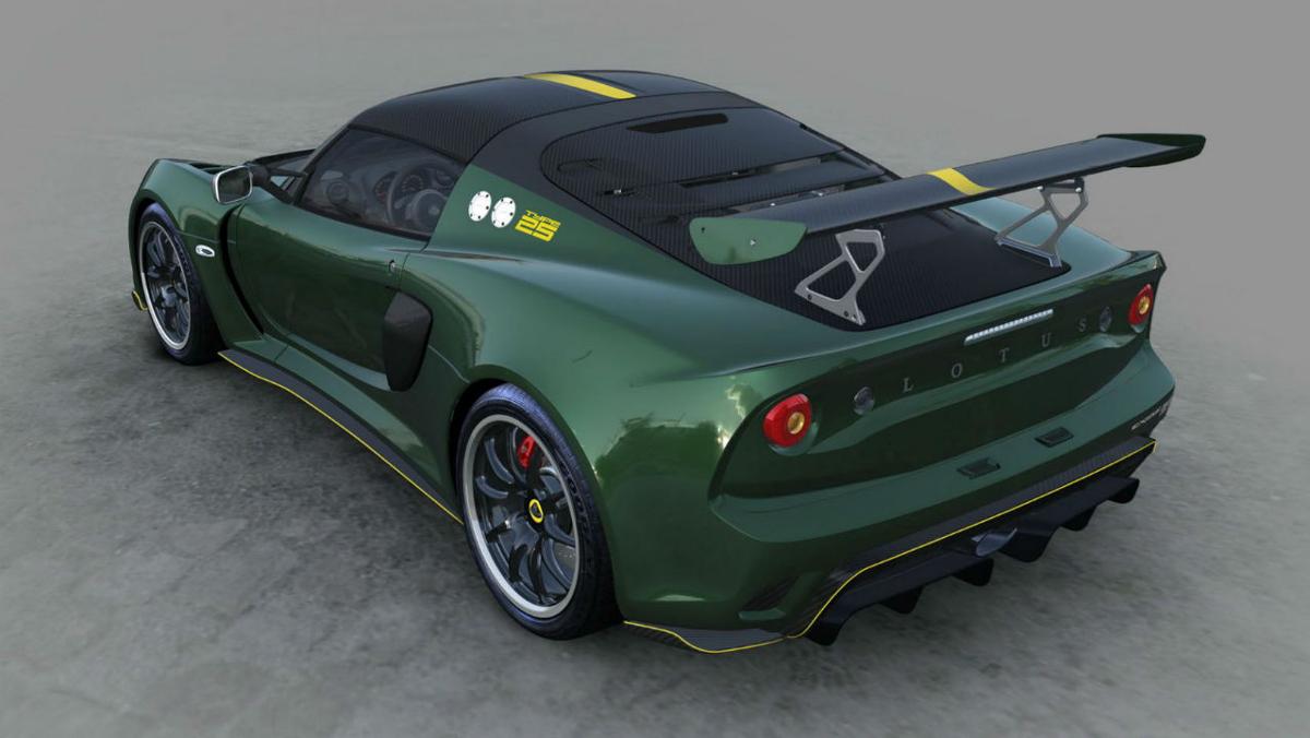 Zaga de Lotus Exige Cup 430 Type 25