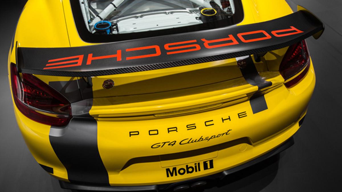 Zaga Porsche Cayman GT4 Clubsport Pikes Peak