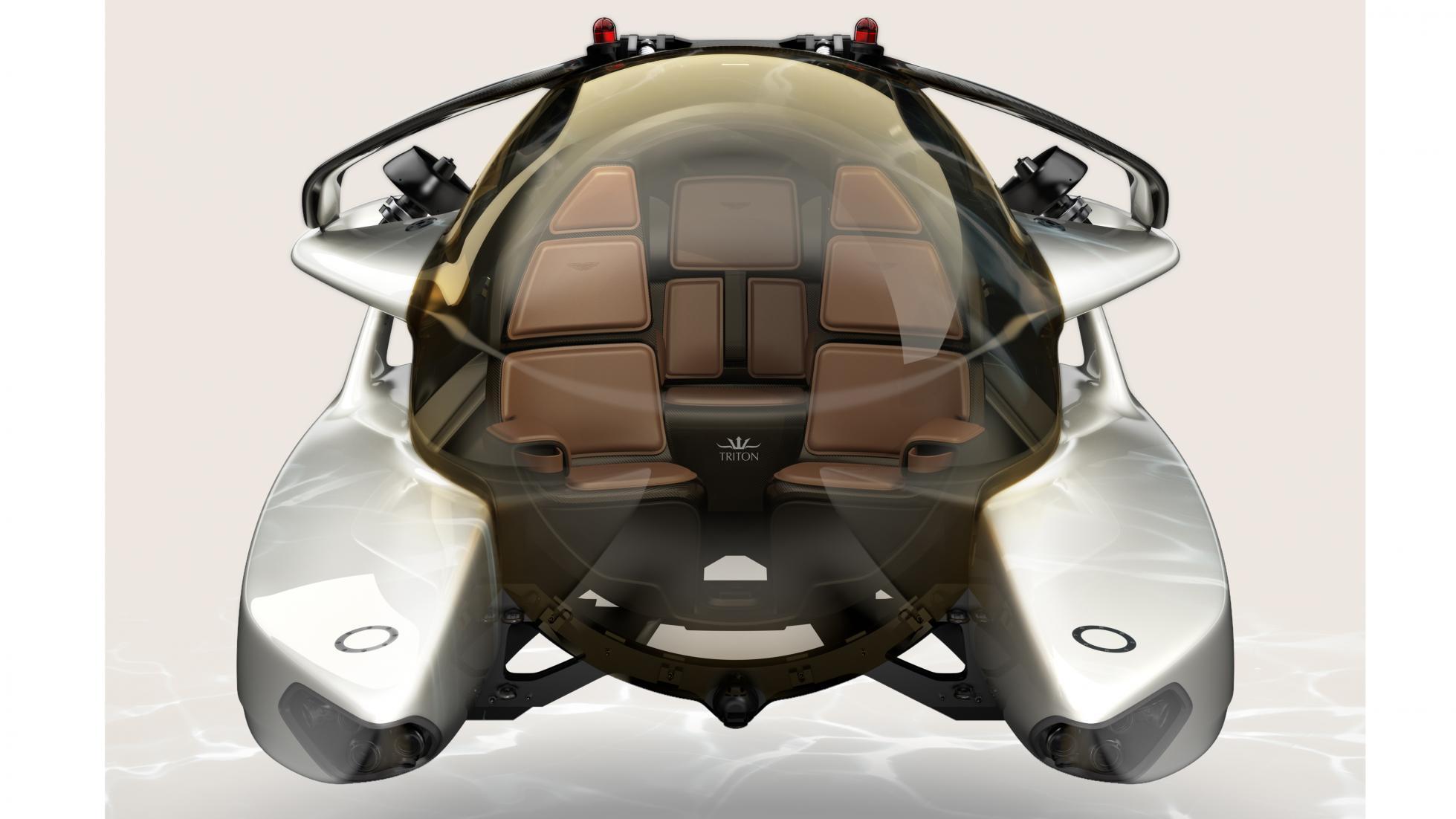 Submarino Aston Martin