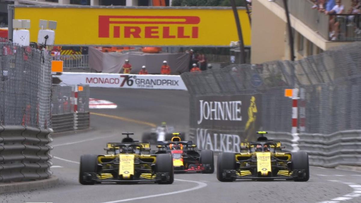 Carletes cede el paso GP Mönaco F1 2018
