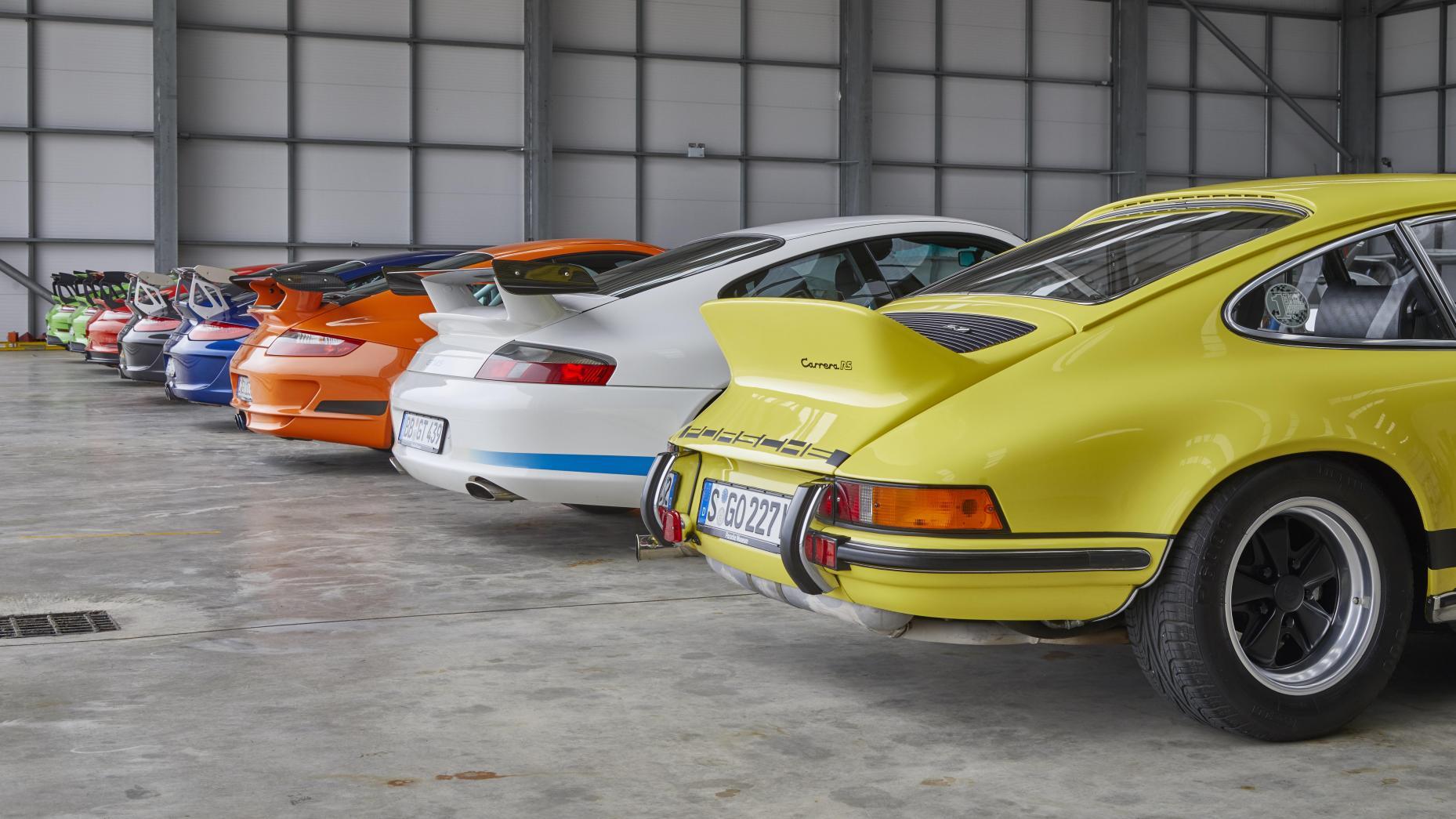 Porsche 911 GT3 RS traseras