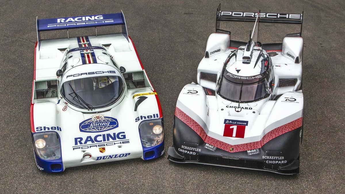 Porsche 916 y 959 en Nurburgring, 'de paseo'