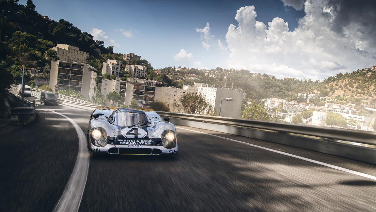 Un Porsche 917K en Mónaco