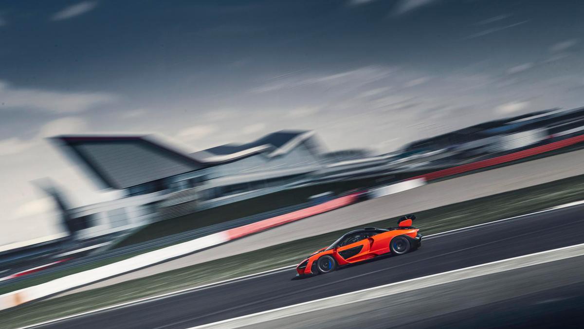 Prueba McLaren Senna (vista circuito)