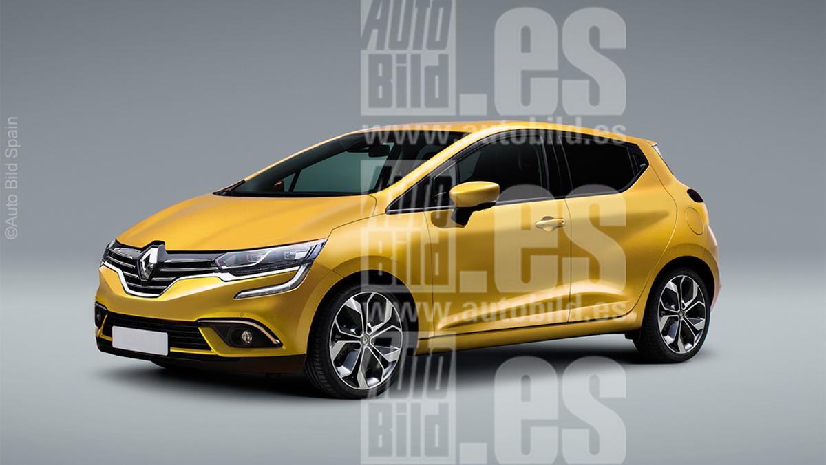 Renault Clio 2019 render 2