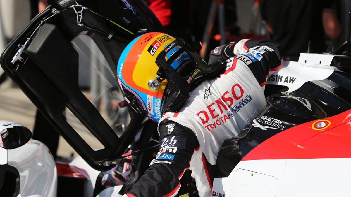 Alonso WEC Le Mans 2018