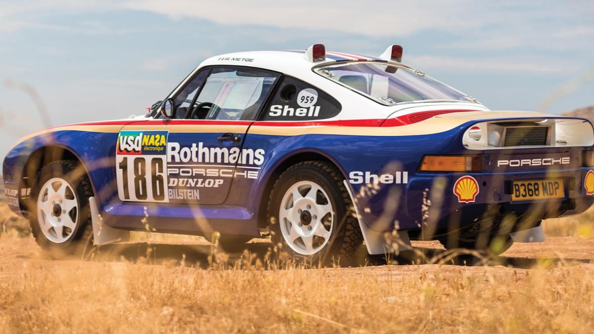 Así es el Porsche 959 del Rally París Dakar 1985
