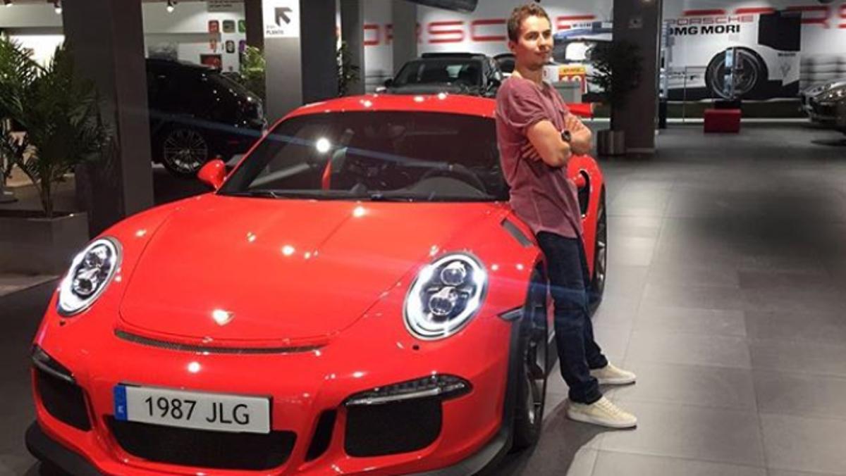 Los coches de Jorge Lorenzo GT3 RS
