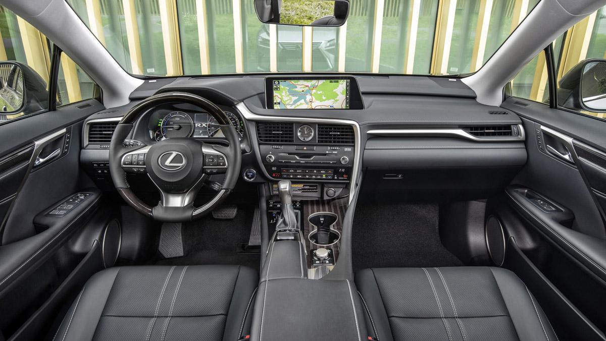 Lexus RX450h L 2018 interior