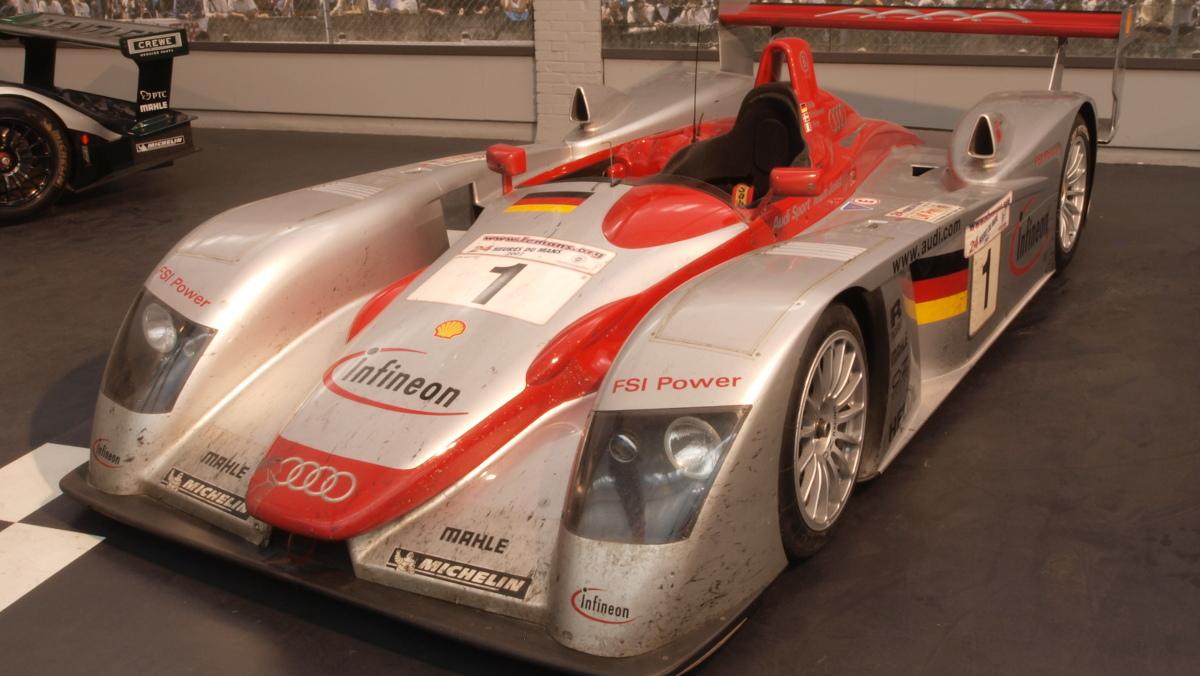 Mejores coches de las 24 Horas de Le Mans Audi R8 Le Mans 2002